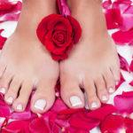 Gesunde Füße nur mit Pflege