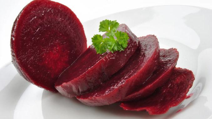 Rote Bio-Rüben