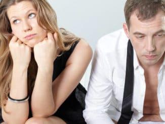 Paar mit Beziehungsproblem