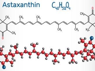 Astaxanthin Struktur
