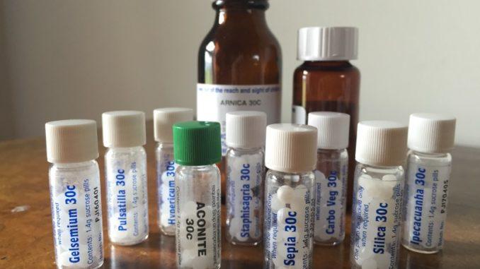 Homöopathische Medikamente